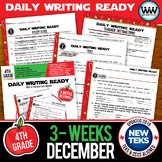 DAILY WRITING READY for December~ 4th Grade Daily Language