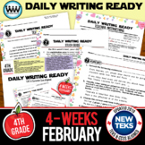 DAILY WRITING READY for February~ 4th Grade Daily Language