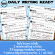 DAILY WRITING READY for January ~ 4th Grade Daily Language Review {TEKS-aligned}