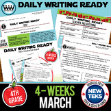 DAILY WRITING READY for March ~ 4th Grade Daily Language R