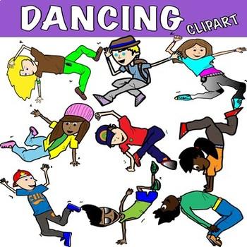 CLIPART -  DANCE- TEENS