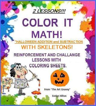 """DANCING SKELETONS AND BONES MATH"" 2 SCIENCE or HALLOWEEN LESSONS for Grades1-5!"