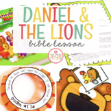DANIEL AND THE LIONS BIBLE LESSON