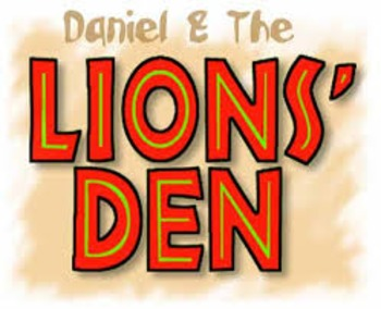 """DANIEL AND THE LIONS' DEN"" 9pp.GREAT BIBLE LITERATURE LES"