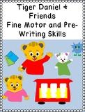 DANIEL TIGER & FRIENDS Cat Owl Fine motor pre-writing skills prek123 OT SPED