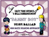 DANNY BOY Easy Tone Chimes & Bells arrangement