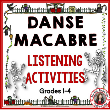 HALLOWEEN MUSIC: DANSE MACABRE PowerPoint with Audio Clips