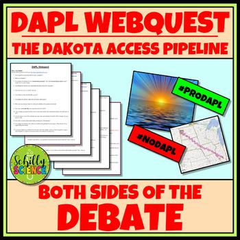DAPL Webquest- Both Sides of the Debate
