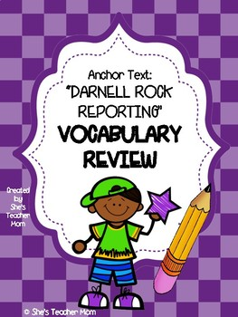 DARNELL ROCK REPORTING: Fifth Grade (Journey's Vocabulary