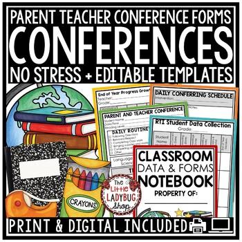 DATA Tracking Intervention RTI Binder & Data Binder