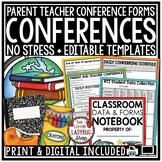 Digital Parent Teacher Conference Forms, DATA Collection R