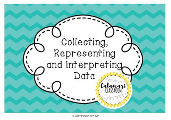 DATA GRAPHING ACTIVITY ~ COLLECTING, REPRESENTING & INTERPRETING DATA ~