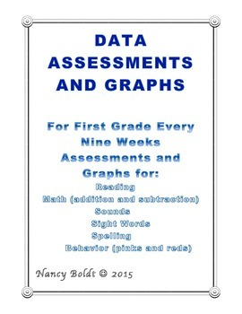 DATA GRAPHS FOR FIRST GRADE