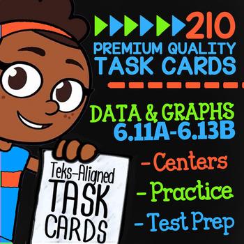 DATA & GRAPHS ★ Math TEK 6.11A 6.12A 6.12B 6.12C 6.12D 6.13A & 6.13B ★ 6th Grade