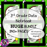 DATA NOTEBOOK BUNDLE! 3rd Grade, All Subjects, Entire Year