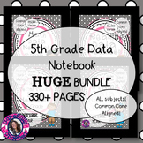 DATA NOTEBOOK BUNDLE! 5th Grade, All Subjects, Entire Year, Common Core Aligned!