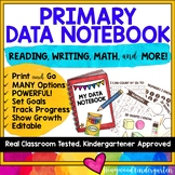 DATA NOTEBOOK for KINDERGARTEN or PRIMARY CLASSROOMS