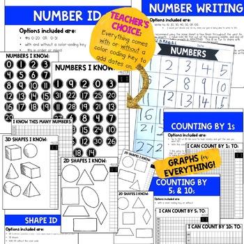 DATA BINDER for KINDERGARTEN or PRIMARY CLASSROOMS