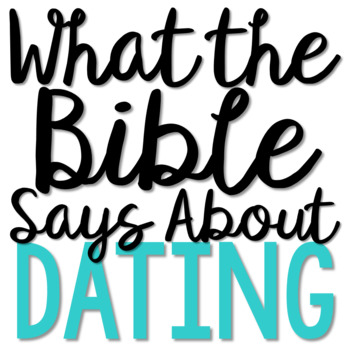DATING: Bible Activity for Teens, Brochure Project, Interactive Lesson