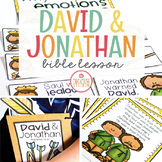 DAVID AND JONATHAN BIBLE LESSON