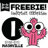 DAY 1 FREEBIE TPT Nashville Conference Celebration Week!!!