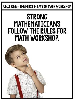 DAY 1 of Math Workshop - What is Math Workshop?