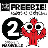 DAY 2 FREEBIE TPT Nashville Conference Celebration Week!!!