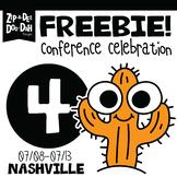 DAY 4 FREEBIE TPT Nashville Conference Celebration Week!!!
