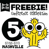 DAY 5 FREEBIE TPT Nashville Conference Celebration Week!!!