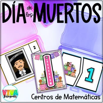 DAY OF THE DEAD 1:1 Correspondence # 1-10 Clip cards / Día de los muertos