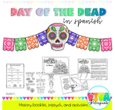 DAY OF THE DEAD HISTORY BOOKLETS AND ACTIVITIES IN SPANISH