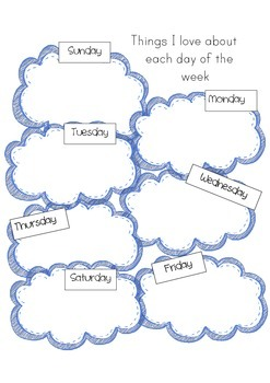 DAYS OF THE WEEK ACTIVITY PACK - INCLUDES ORIGINAL RHYME/POEM