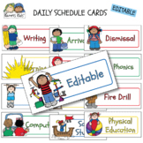 DAILY SCHEDULE and DAYS of the WEEK CARDS BUNDLE (Karen's Kids)