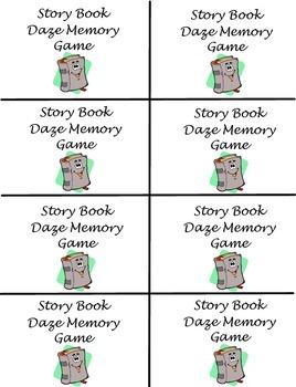 DAZE/ CLOZE Reading Memory Game