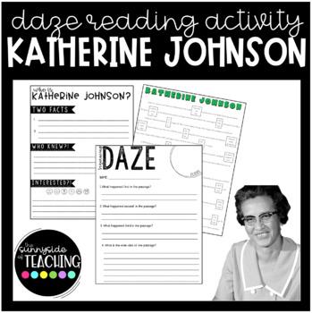 DAZE Or MAZE Practice With Comprehension Resources Katherine Johnson