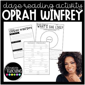 DAZE Or MAZE Practice With Comprehension Resources Oprah Winfrey