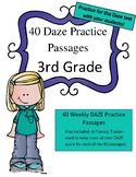 DAZE Practice Pages 3rd Grade