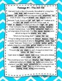 DAZE Practice Passages #1-73 Dibels (2nd-4th Grade) **BUNDLE**