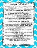 DAZE Practice Passages #1-93 Dibels (1st-6th) **BUNDLE*