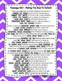 DAZE Practice Passages #21-30 Dibels (2nd-4th)