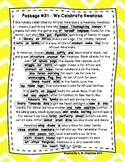 DAZE Practice Passages #31-40 Dibels (2nd-4th)