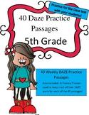 DAZE Practice Passages 5th Grade
