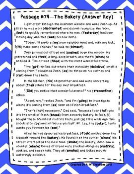 DAZE Practice Passages #74-83 Dibels (4th-6th)