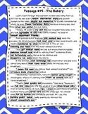 DAZE Practice Passages #74-93 Dibels (4th-6th Grade) **BUNDLE**