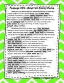DAZE Practice Passages #84-93 Dibels (4th-6th)