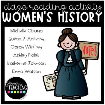 DAZE Or MAZE Practice With Comprehension Resources Women S History Bundle