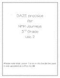 DAZE practice for HMH Grade 3 Unit 2