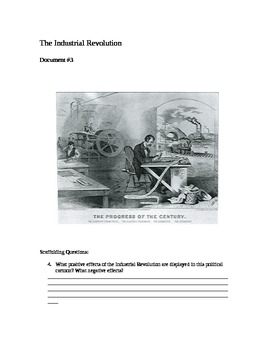 DBQ: A Complete DBQ for the Industrial Revolution
