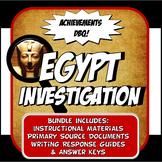 DBQ Ancient Egypt Achievements Common Core DBQ Activity