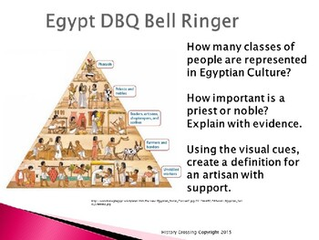 DBQ Bell Ringers--Ancient History